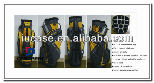 Poly Custom Personalized OEM Golf Bags