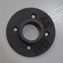 Black Pipe <strong>Fitting</strong>, hardware accessories Shelves <strong>fitting</strong> 1/2 inch four -hole Malleable Thread Iron Floor Flange