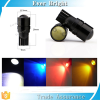 T10 W5W Car fog light 1.5W COB Projector lens signal Lighting