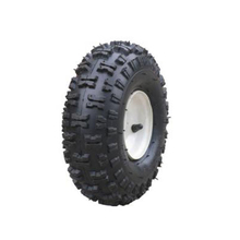 Heavy duty solid rubber wheels with standard bearing