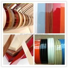 Excellent pvc plastic countertop table desk edge banding strip