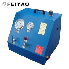 Air hydraulic pump station supply for lifting