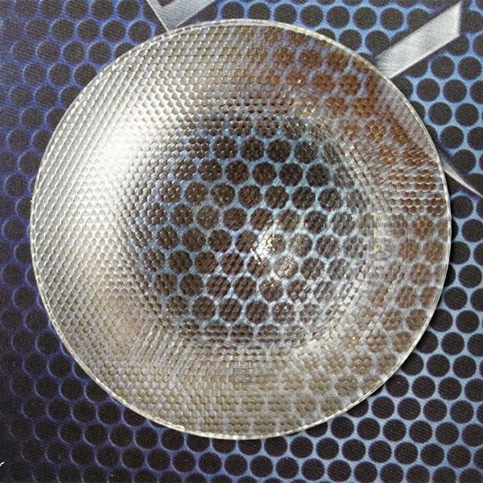 150mm diameter 120mm focal lengthPMMA compound eye honey comb fresnel lens fly eye lens