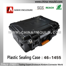 waterproof hinged plastic box