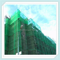 High quality Green hdpe nylon construction scaffolding safety net for building