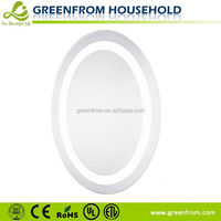 hotel illuminated mirrors single side high-end LED light magnifying comestic mirror