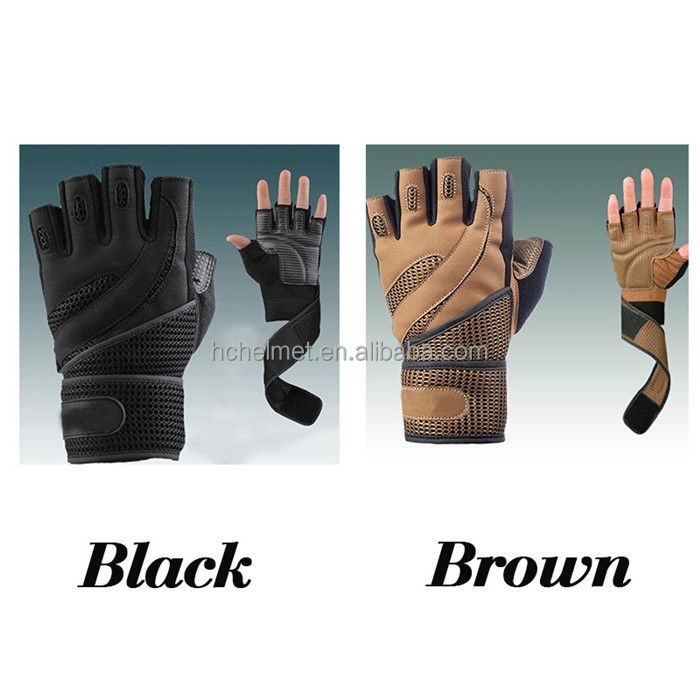2015 New Sport Cycling Fitness Gloves GYM Half Finger Weight lifting Gloves Exercise Training