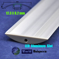 12.3*8.2mm Waterproof LED Profile Aluminum for LED Rigid Bar Light
