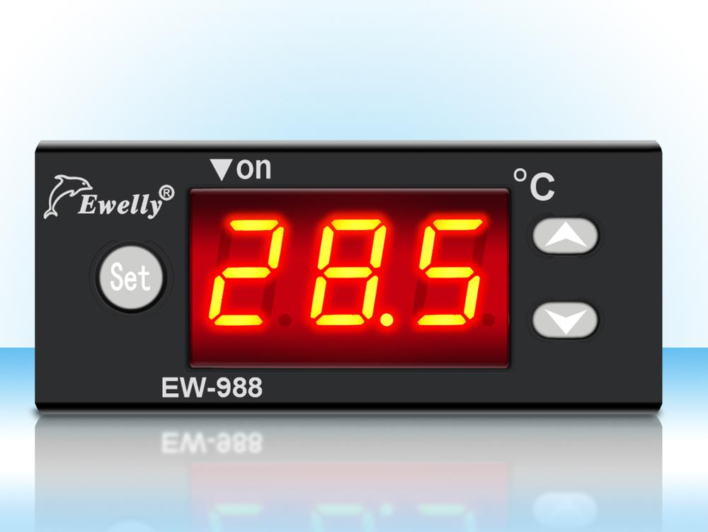 EW-988H industrial digital thermometer temperature controller with sensor