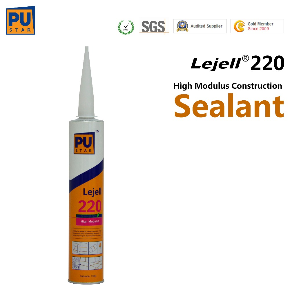 professional construction high quality pu joint sealant for concrete lejell 220