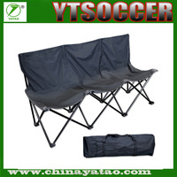 3 Seats Folding beach chair Foldable camping chair