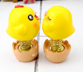 Custom small plastic spring jumping bird toy/make your own spring jumping animal toys/ Create plastic spring toys seller