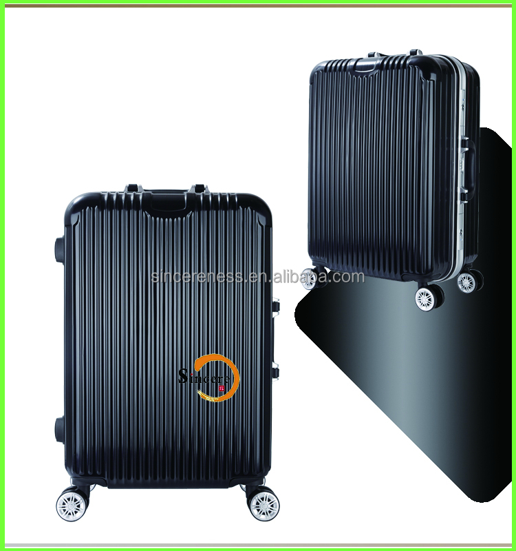 factory price 3pcs set hard shell travel luggage abs trolley suitcase