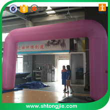 Tongjie TY Competitive Price Inflatable Black Arch, Inflatable archway with customized logo, advertising inflatable archway