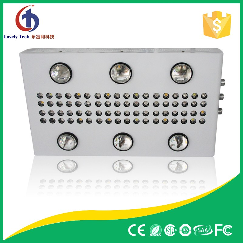 Indoor hydroponic led 5 watt chip powerful led grow lights 900w with great price