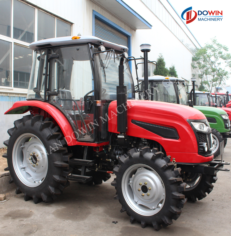 China agricultural machinery 60HP farm tractor with AC cab