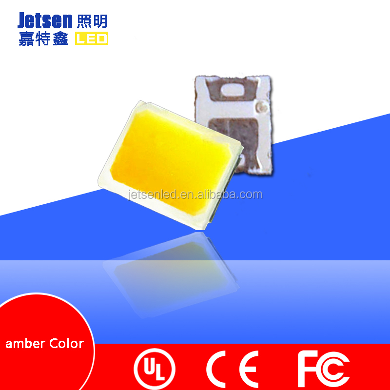 Good Quality High Lumens chip Epistar/sanan 0.2 W Amber Color 2835 smd led