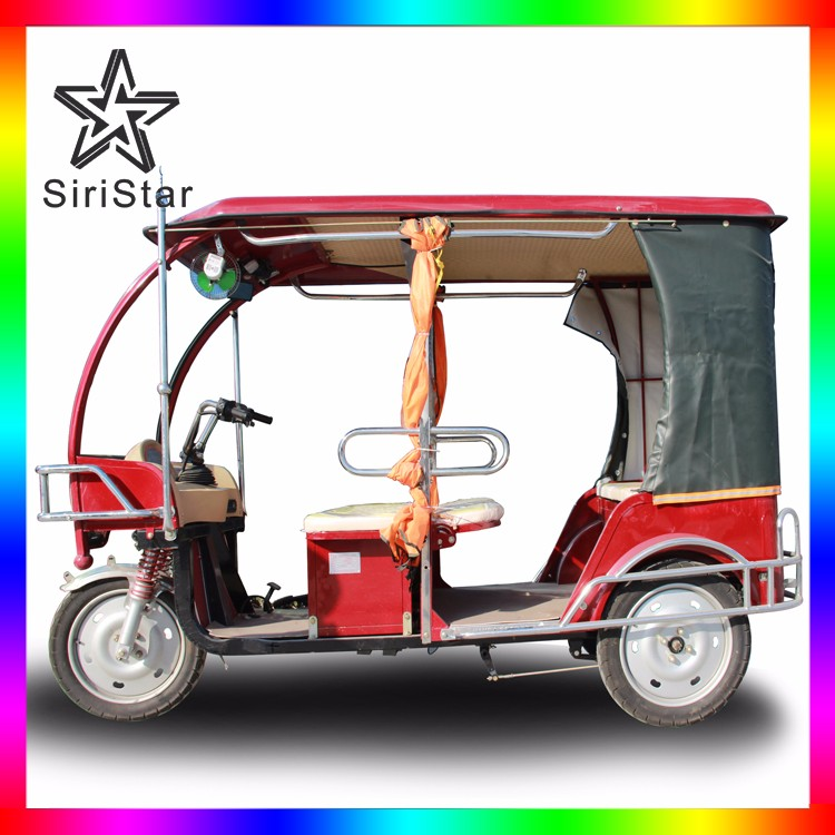 Electric three wheeler 3 wheeler tuk tuk passenger bajaj price Venus-SRAKA11