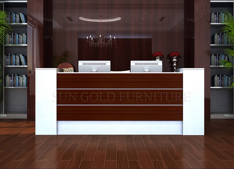 modern office counter tablefront desk counterreception