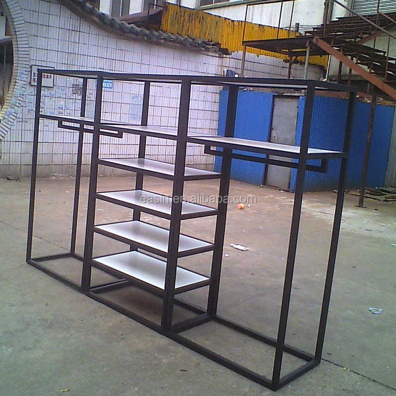 OEM metal removable clothing display racks