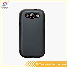 Latest high quality free sample shockproof for samsung galaxy 3 cell phone cases