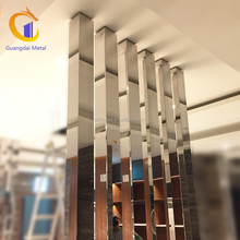 Chinese Support Stainless Steel Room Partition Screen Perforated Decorative Metal Sheet Screen