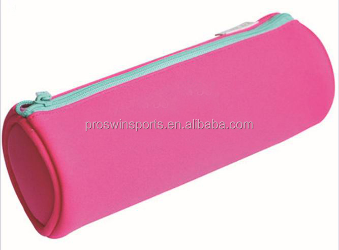 Blank neoprene pencil case for custom sublimation printing