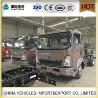 China made Diesel Fuel HOWO 4x2 10t light cargo truck for sale/toyota light truck