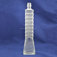 Hot selling custom made wine glass bottles