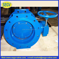 Cast Iron EPDM Seated Butterfly Valve