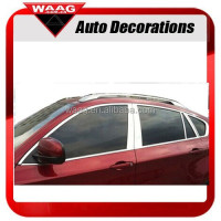 Full Window Trim Chrome decoration For BMW X1 X3 X5 X6