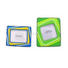 latest PVC rubber customised 3D picture photo frame