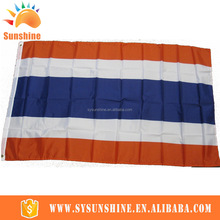 2016 all kinds of custom 100%polyester Thailand Different country national flags for 2016 Brazil OLympic