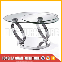 Cheap Price Custom Special Discount Rotating Round Coffee Table
