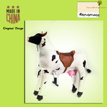 moving cow toys, riding toy for 3 year old, big toy horse