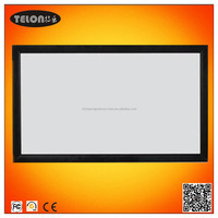 300inch 16:9 Fixed frame screen/fixed frame projector screen/projection screen with front material
