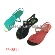 SB-5511 2014 New Style TPR Sole Women sandals
