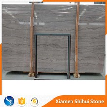 China Silver White Grey Natural Marble Stone