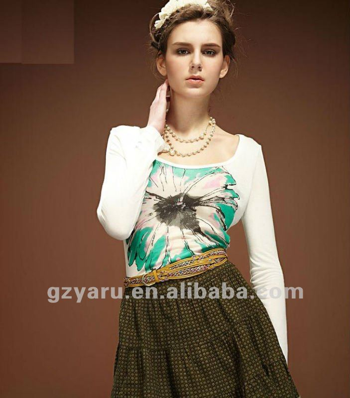 t shirt style dress 2012 New Fashion Design summer Midi Dress