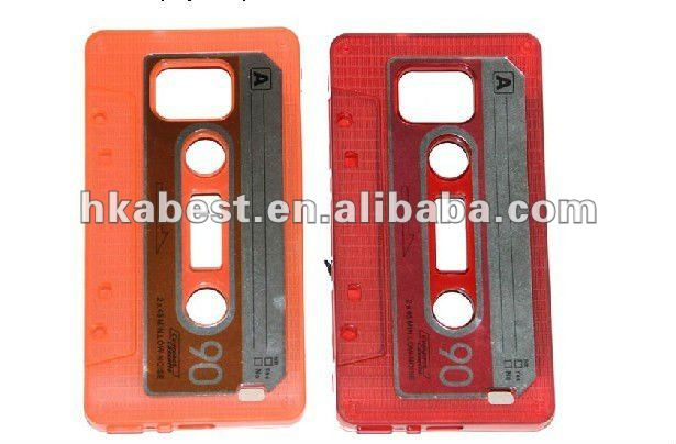 Cassette Hard Case For Galaxy S2 i9100