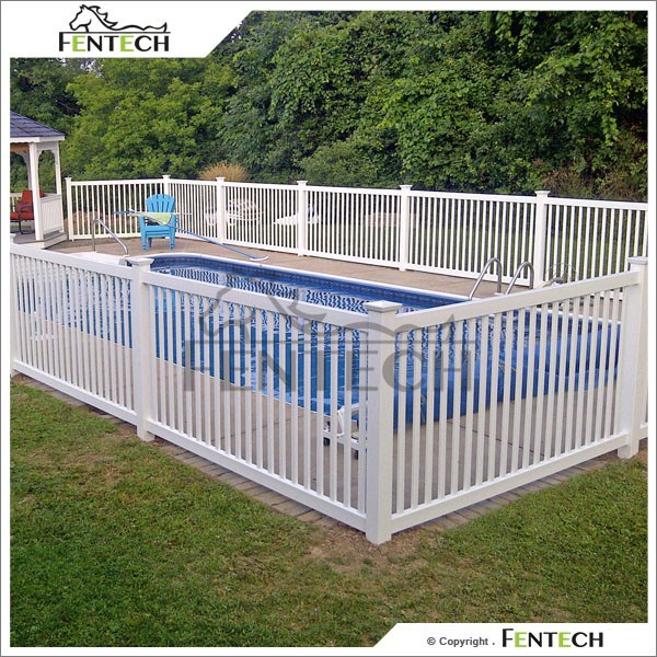 Fentech plastic portable swimming pool fence used