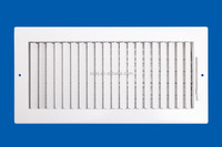 steel perforated grille air control horizontal or vertical