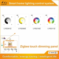 2016 led light remote control zigbee touch sensitive switch