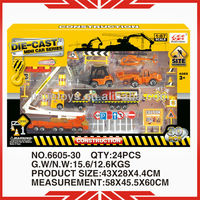 1:87 scale diecast truck 6605-30 diecast car play set