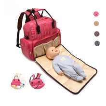 Wholesale Mommy Travel Storage baby case backpack diaper bag