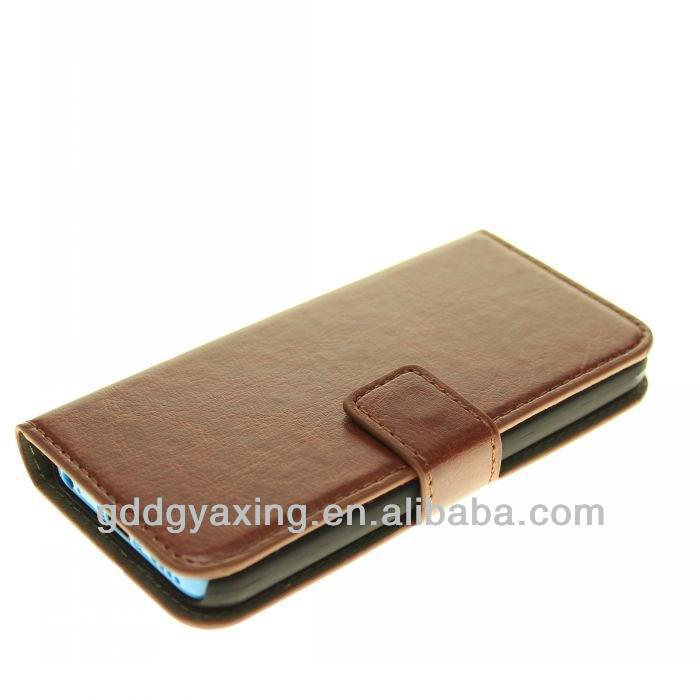 PU Leather case for IPhone5C ,hot selling 2013