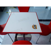 Restaruant solid surface chairs and tables/walmart table and chair