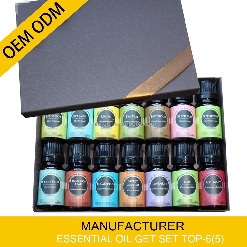 Aromatherapy oil gift set 14 set/10ml -100% pure undiluted essential oil