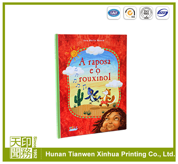 Cheap custom printing puzzle children book printing