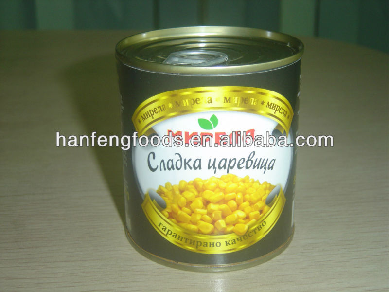 canned sweet corn kernel 312ml